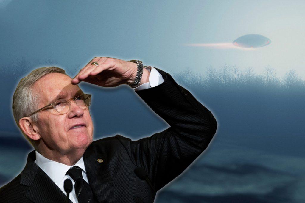 Former Sen. Harry Reid thinks Lockheed Martin may have UFO fragments