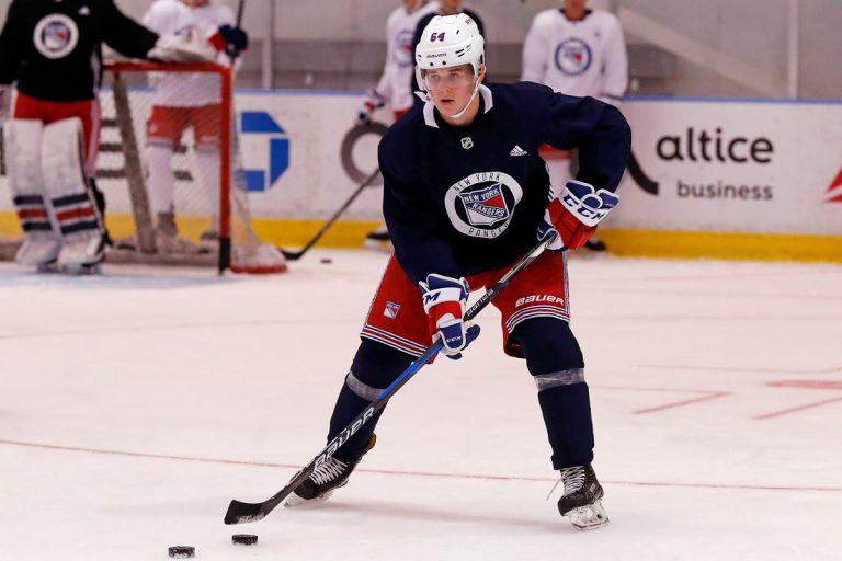 New York Rangers prospect Nils Lundkvist's hype grows