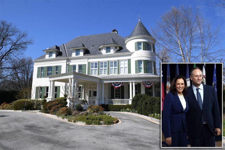 Kamala Harris finally moves into official VP residence