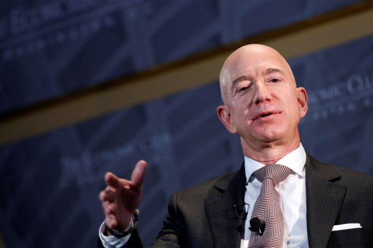 Jeff Bezos says Amazon supports Biden's corporate tax hike