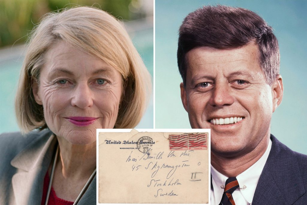 JFK's letters to secret lover up for auction