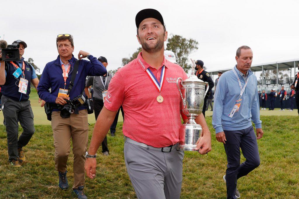 Jon Rahm quelling temper helps him as dad, golfer