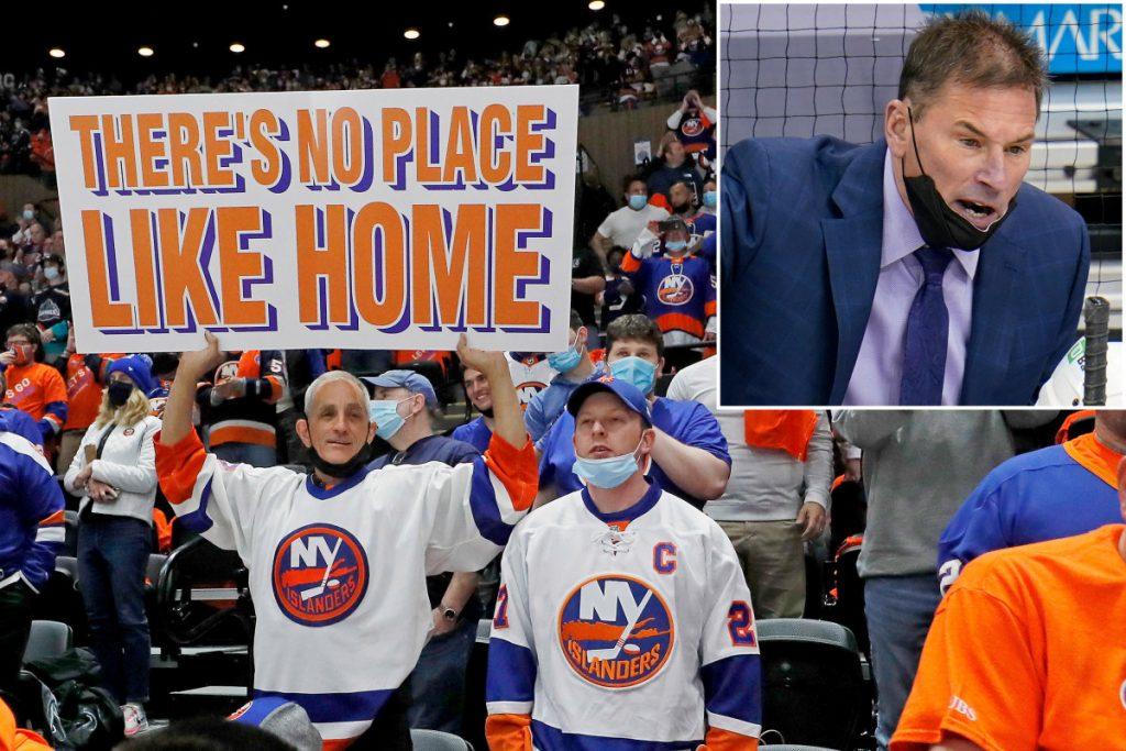 Bruce Cassidy made a big mistake riling up Islanders fans
