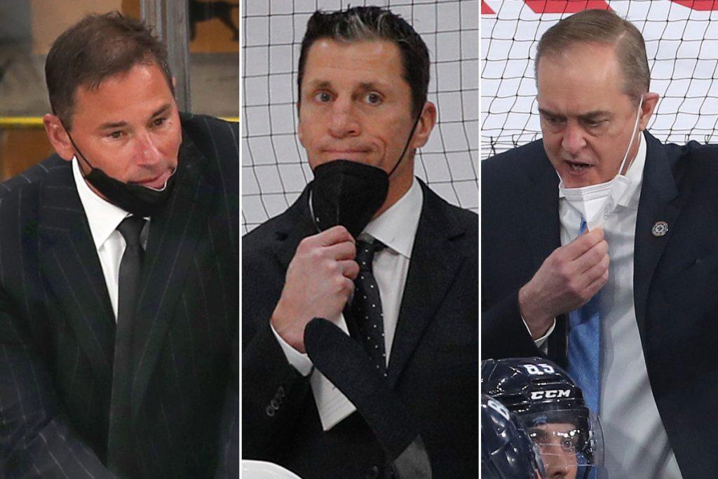 Rangers monitoring playoff coaches, Gerard Gallant favorite