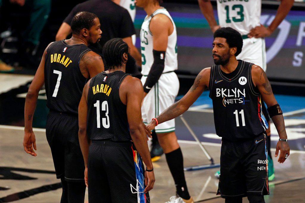 Extending Durant, Harden, Irving part of Nets' offseason