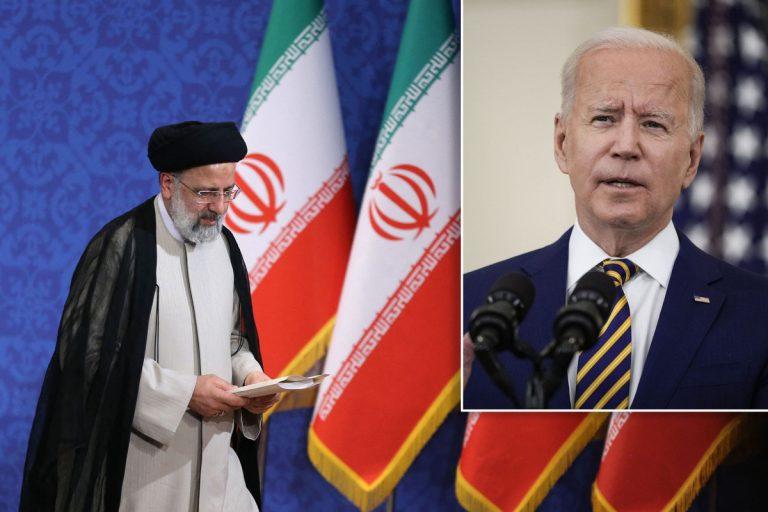 Iran's new president says he won't meet with Joe Biden