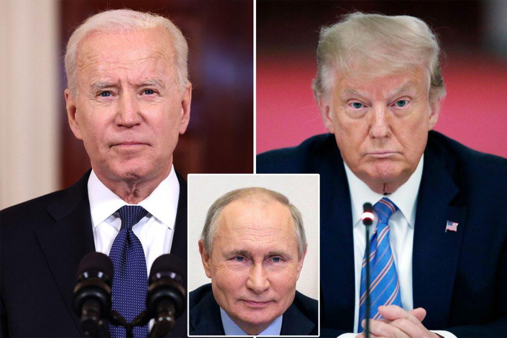 'Good luck' with Putin, 'don't fall asleep!'
