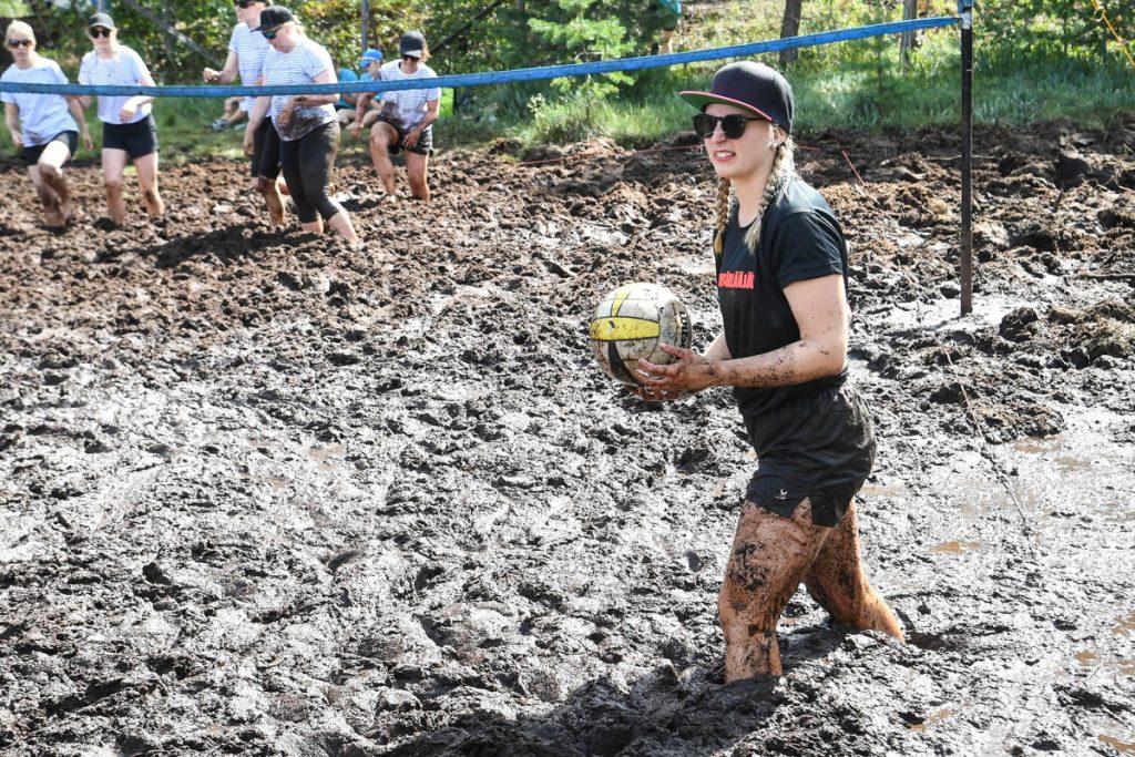 Finnish fun at 'swamp volleyball' world championships
