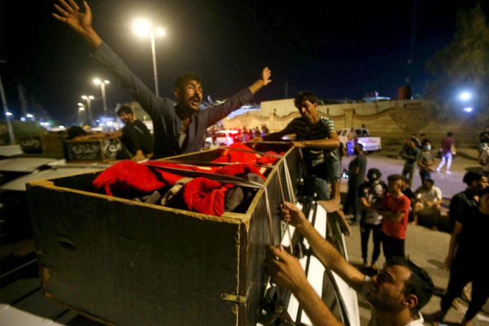 Dozens killed, injured in fire at Iraqi coronavirus hospital